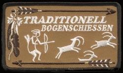 TB Aufnäher: Jagdszene
