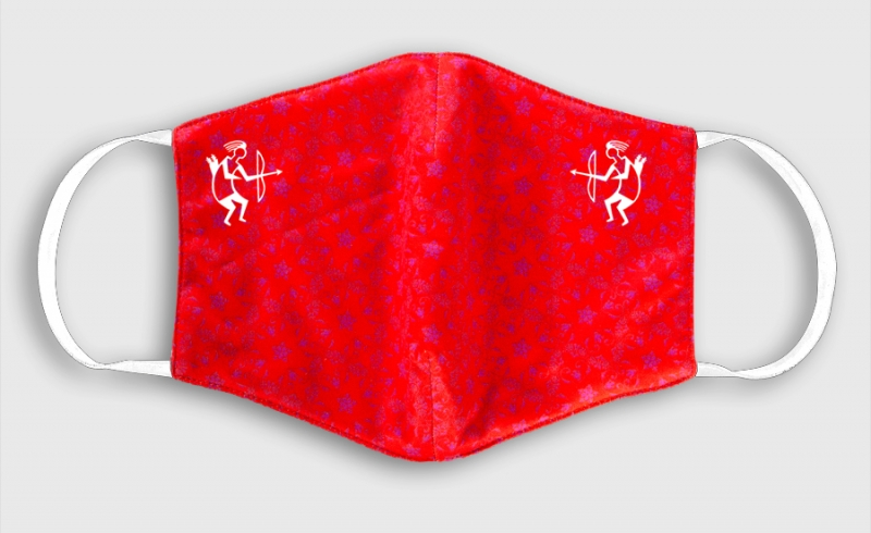 TB Fashion Mask red