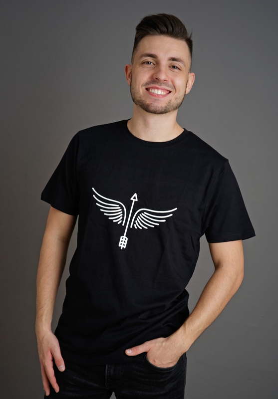 Arrow Angel Unisex Black XL
