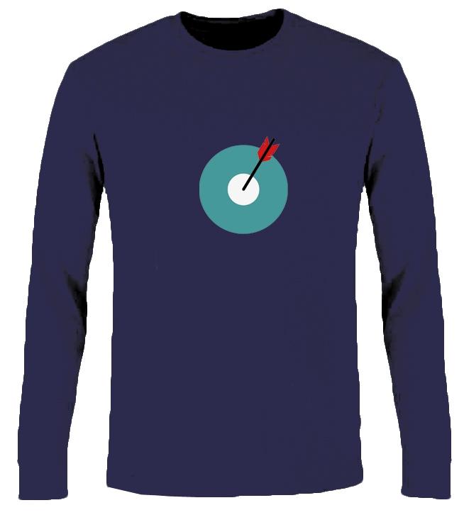TargetOne-Longsleeve Blue XXL