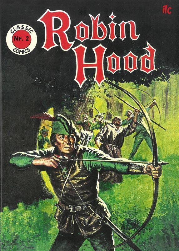 Robin Hood Classic Comic