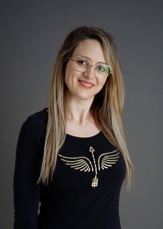 Arrow Angel Lady longshirt Gold XS